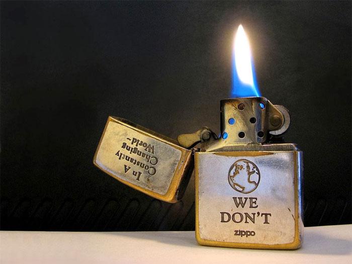 Bật lửa là một nguồn phát nổ tiềm ẩn mà ít người để ý.