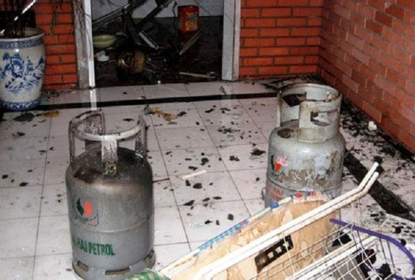 Các vụ nổ bình gas chủ yếu do khí gas bị rò rỉ.
