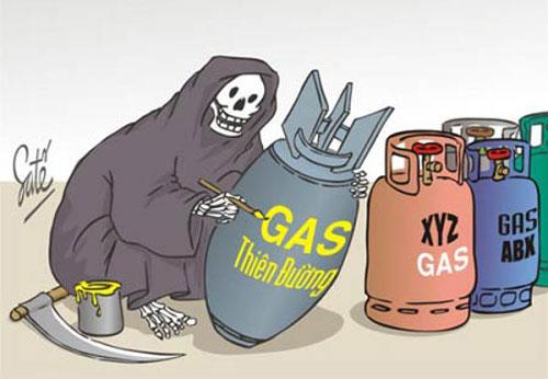 Bình gas là một trong những nguyên nhân hàng đầu gây ra những vụ nổ lớn.