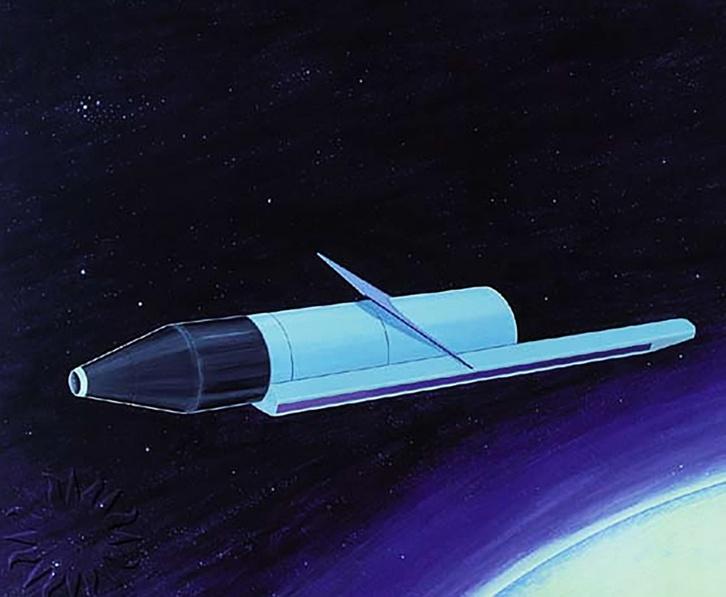 Rorsat - một trong số 30 mẫu vệ tinh động cơ năng lượng hạt nhân được Liên Xô phát triển