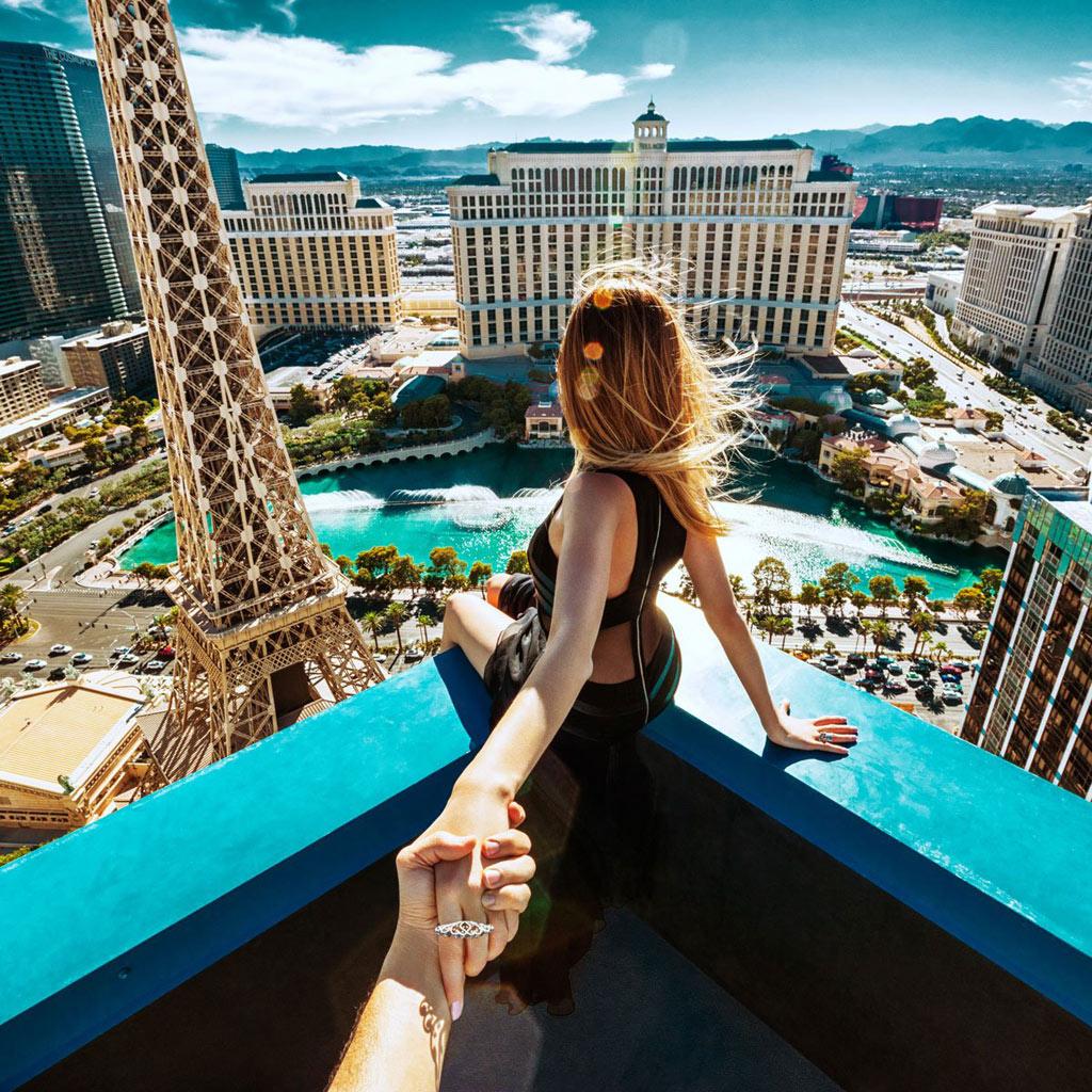 Góc nhìn này từ Las Vegas thật vô giá