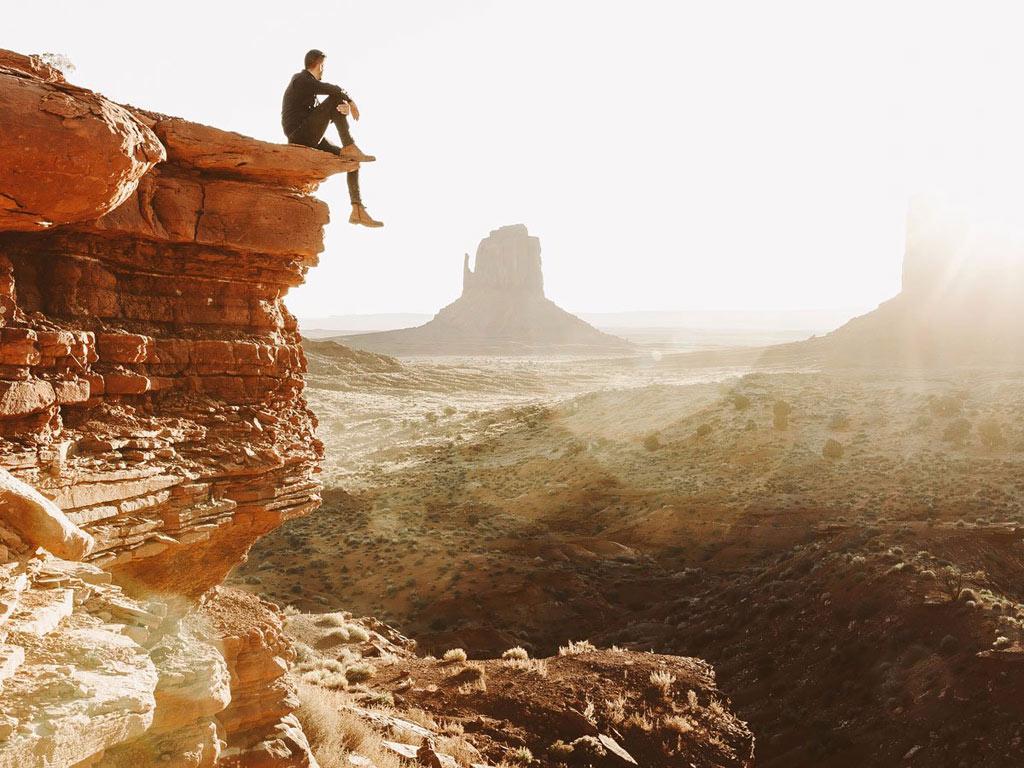 Hình ảnh này được chụp tại Monument Valley tại San Juan, Utah