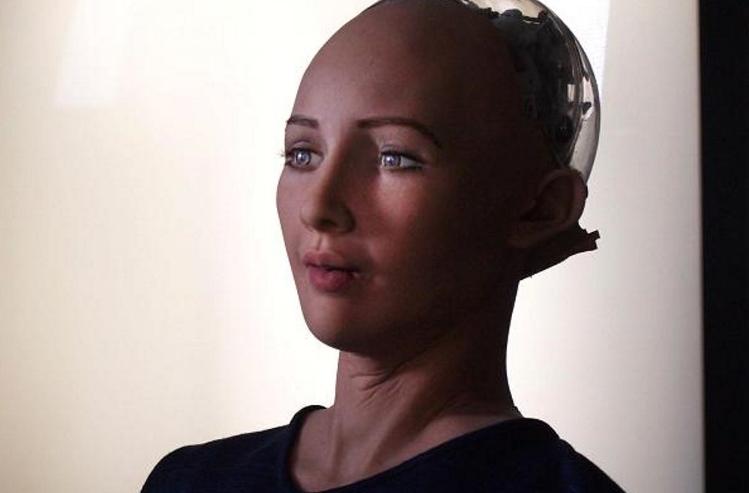 Cận cảnh Sophia, robot giống người và có khả năng giao tiếp ấn tượng.