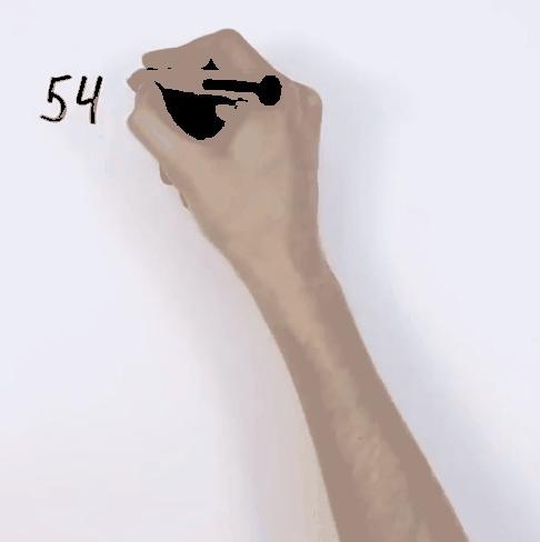 Vẽ ô vuông với số cột và dòng tương ứng với số mà bạn phải thực hiện phép nhân.