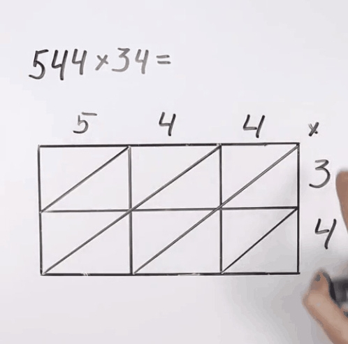 Thực hiện phép nhân lần lượt từng số ở hàng trăm, chục, đơn vị ở thừa số thứ nhất với từng thừa số thứ 2.