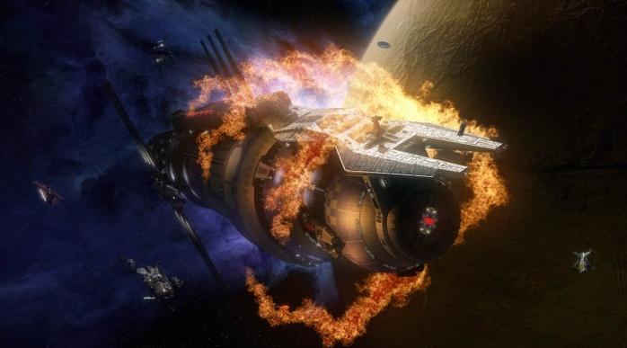 """Dự án """"Saffire I - Đốt cháy tàu không gian I"""" của NASA."""
