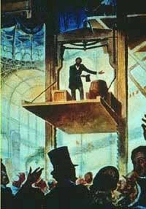 Chiếc thang máy đầu tiên trên thế giới