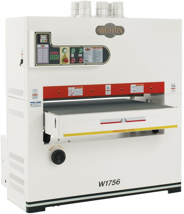 SHOP FOX W1756 25 HP 43-Inch Three Phase Wide-belt Sander (1,15 tấn)