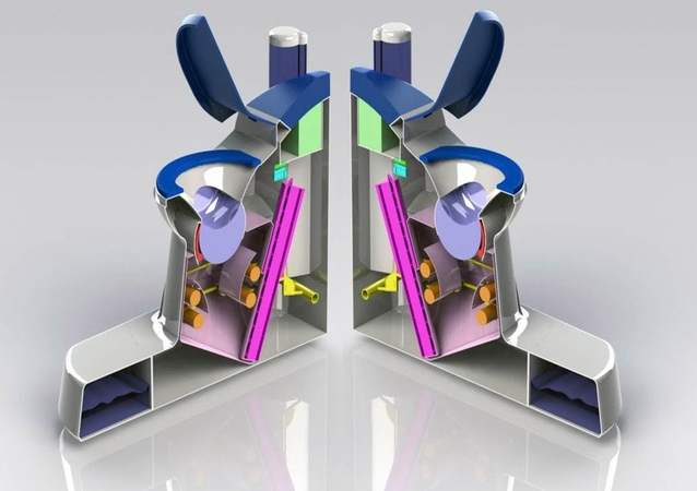 Cấu tạo chiếc bồn cầu Nano Membrane Toilet.