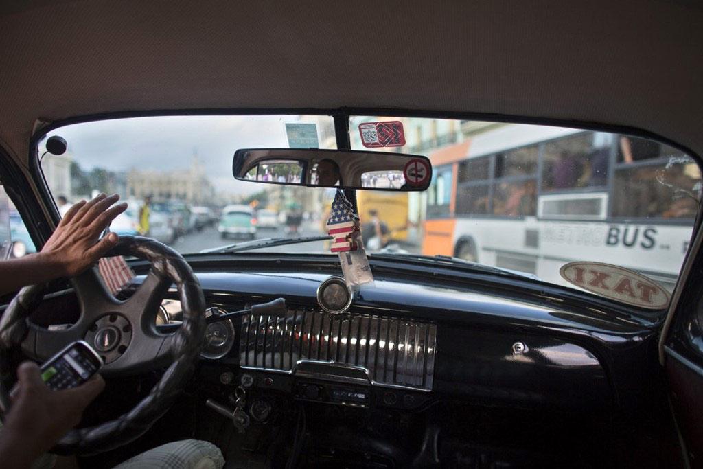 Ngay cả taxi cũng là những chiếc xe duyên dáng và đầy phong cách.