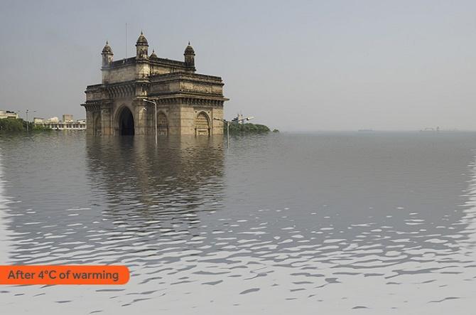 Mumbai tăng 4 độ C