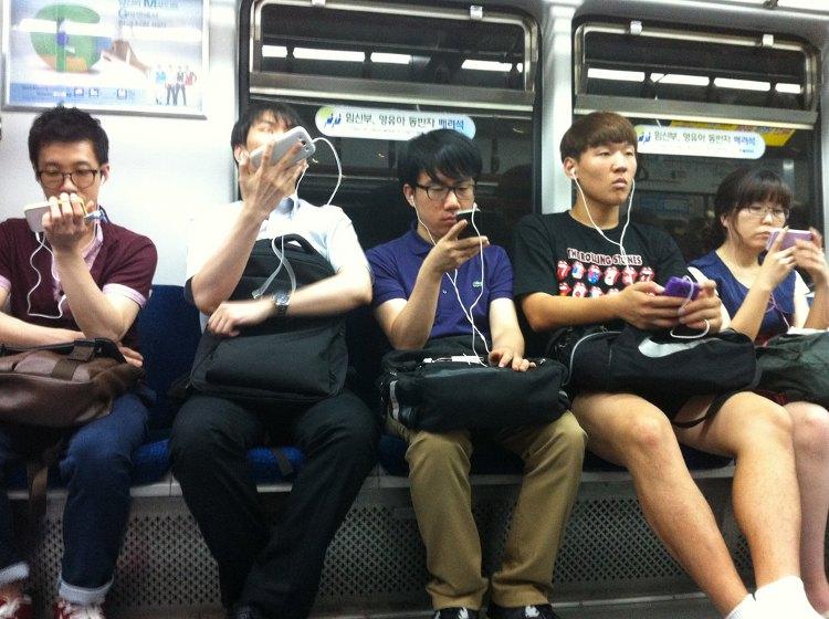 Người dân Hàn Quốc có thể bắt wifi mọi lúc mọi nơi.