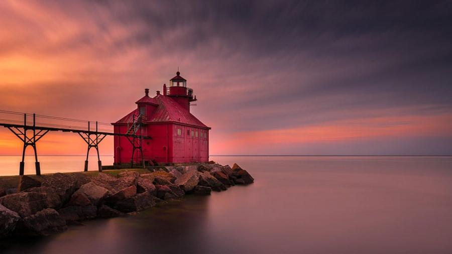 Đèn hải đăng Wisconsin