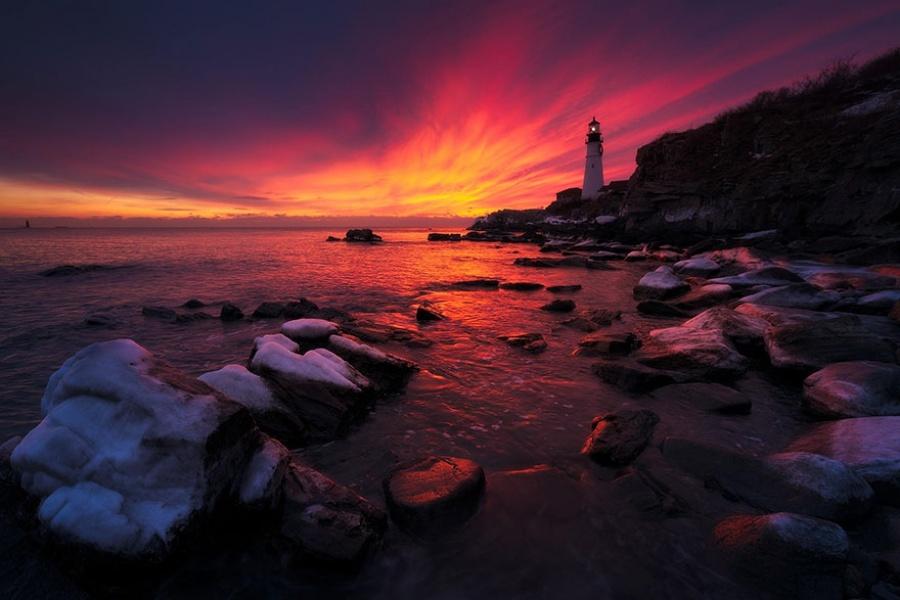 Đèn hải đăng Maine