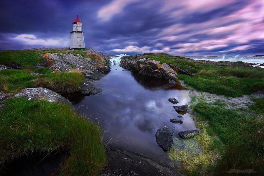 Đèn hải đăng ở Na Uy