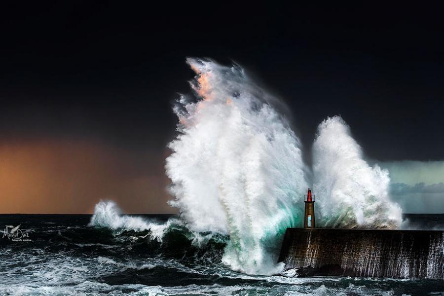 Đèn hải đăng Asturias
