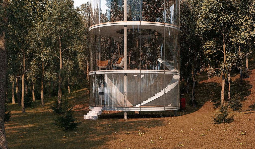 Dự án độc đáo này mang lại cho người ở cảm giác được hòa mình vào thiên nhiên một cách trọn vẹn.
