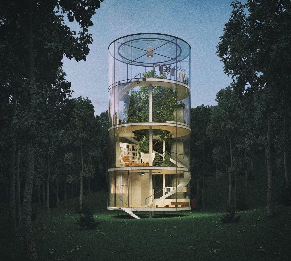 Ngôi nhà này sẽ giúp cho người ở thoát khỏi cảm giác ngột ngạt