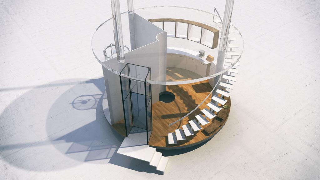 Thiết kế của ngôi nhà