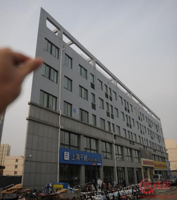 Những tòa nhà mảnh mai không ai có thể ngờ tới