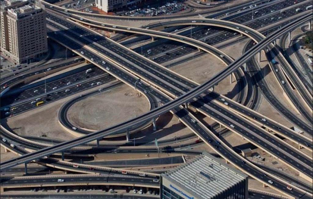 Đến nay, Dubai đã có hệ thống đường giao thông hiện đại bậc nhất thế giới