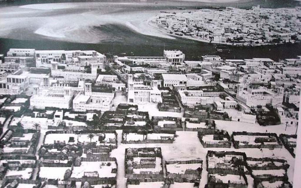 Toàn cảnh thành phố nhìn từ trên cao.