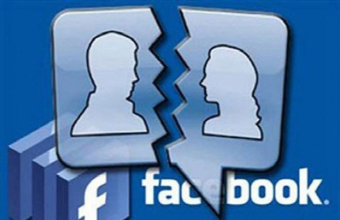 Một phần ba hồ sơ của tất cả các vụ ly dị ở Mỹ năm 2011 có liên quan đến Facebook