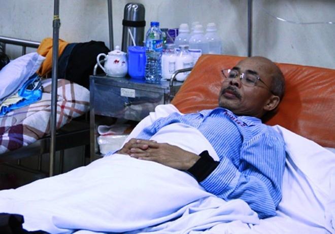 NSƯT Hán Văn Tình được chẩn đoán bị ung thư di căn màng phổi.