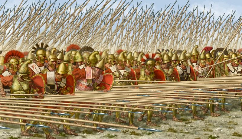Đội quân Phalanx Macedonia