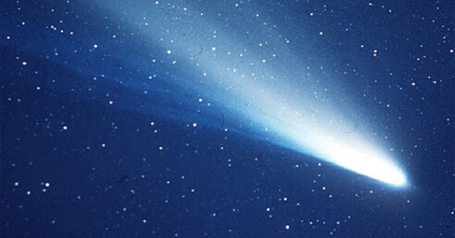 Sao chổi Halley, ảnh chụp năm 1986 của NASA