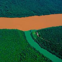 Những dòng sông hợp lưu không chịu hợp màu