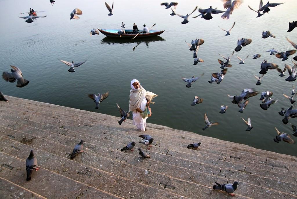 Varanasi, Ấn Độ.