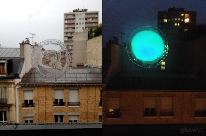 Hình dáng của chiếc đèn sinh học.