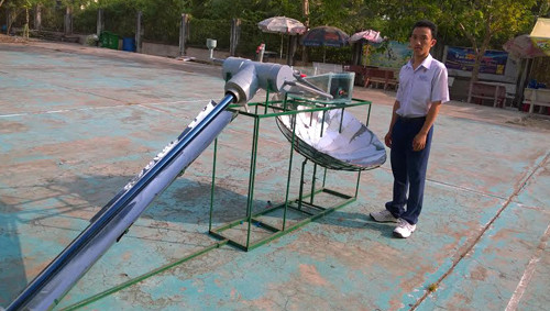 Nhóm nghiên cứu hy vọng thiết bị này có thể giúp bà con đồng bằng sông Cửu Long có nước ngọt sinh hoạt trong mùa khô hạn.