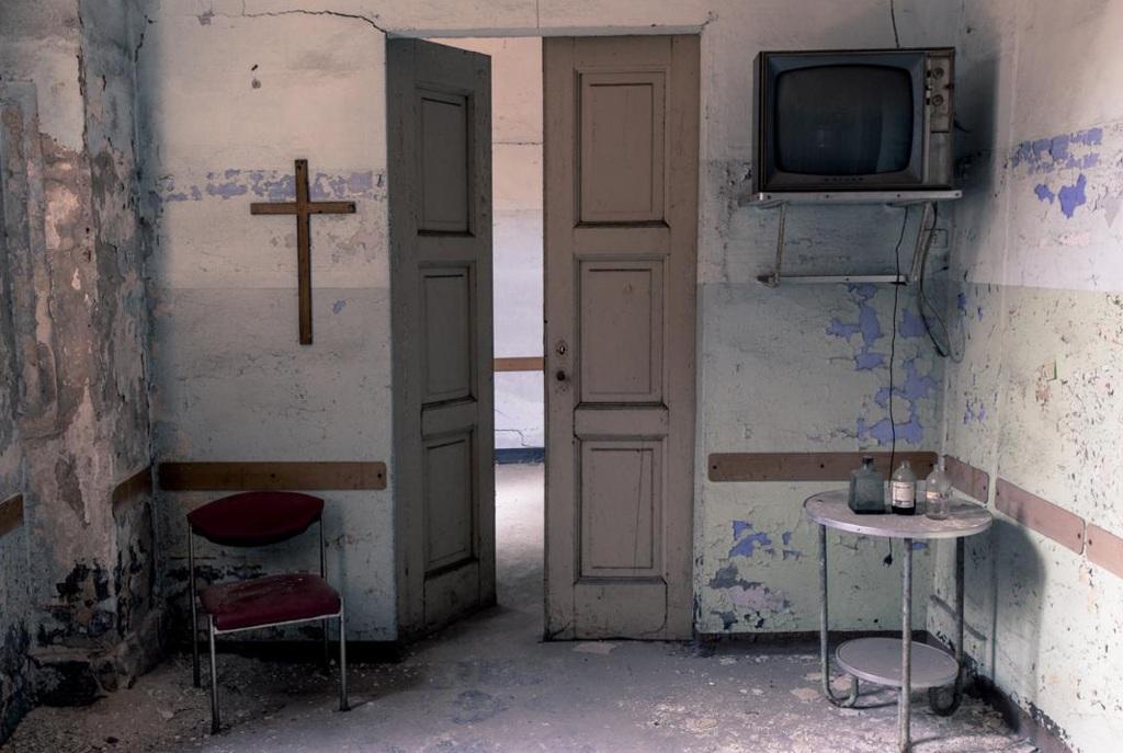 Bệnh viện tâm thần ở Racconigi, Ý.