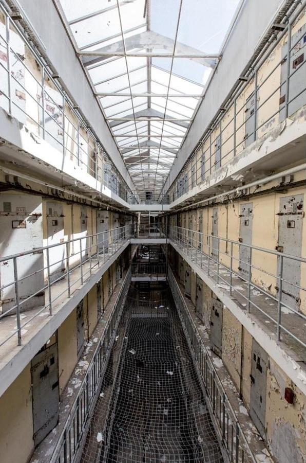 Nhà tù Loos ở Lille, Pháp.