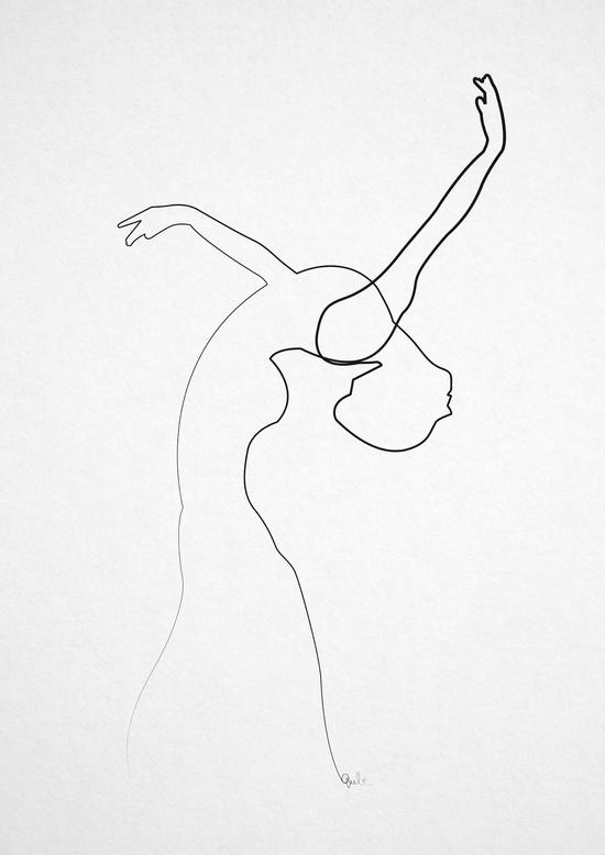 Cô gái đang múa