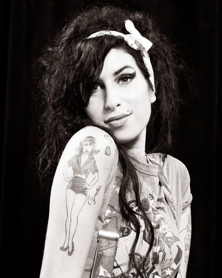 Amy Winehouse - nữ nghệ sĩ gia nhập Club 27 gần đây nhất.