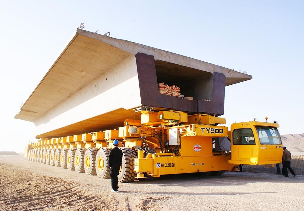 """Chiếc TY900 dùng để vận chuyển """"đường hầm"""" khổng lồ."""