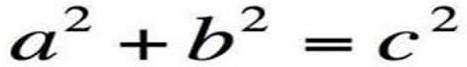 Định lý Pythagoras.