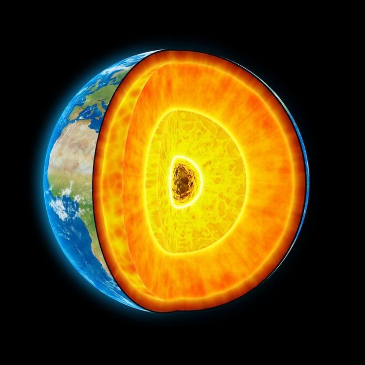 Trong lõi Trái Đất có gì?