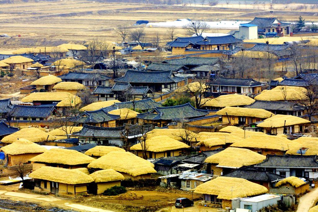 Vẻ đẹp những ngôi làng cổ: Yangdong và Hahoe của Hàn Quốc.