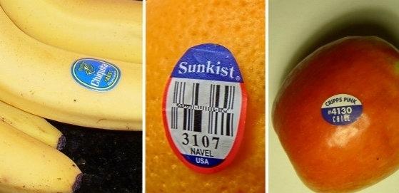 Những mã code trên trái cây có ý nghĩa như thế nào?