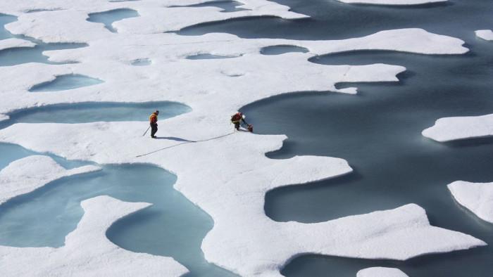 Vào ngày 24/3, diện tích băng Bắc Cực ghi nhận đạt 14,52 triệu km2.