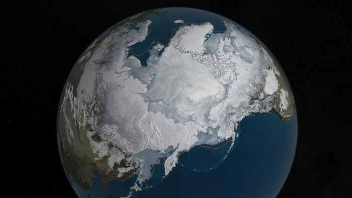 Băng tại Bắc Cực đã xuống mức thấp kỷ lục trong mùa đông năm nay.
