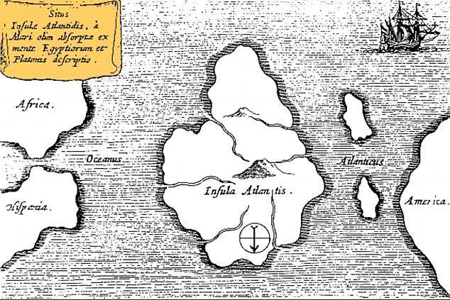 Lục địa biến mất Atlantis