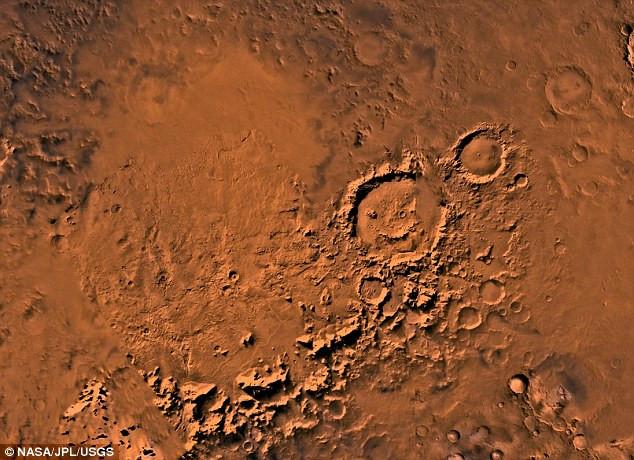 Vùng lòng chảo Argyre trên bề mặt sao Hoả có thể tiềm ẩn bằng chứng của sự sống.