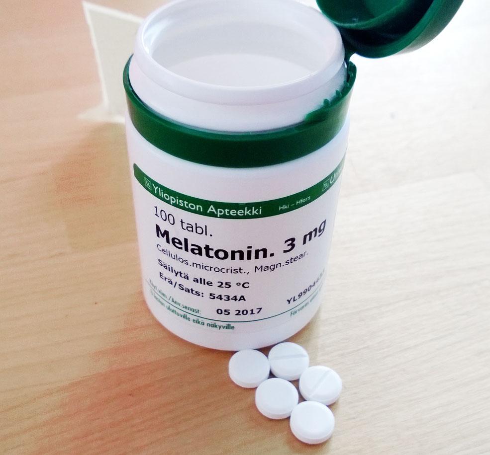 Bổ sung melatonin