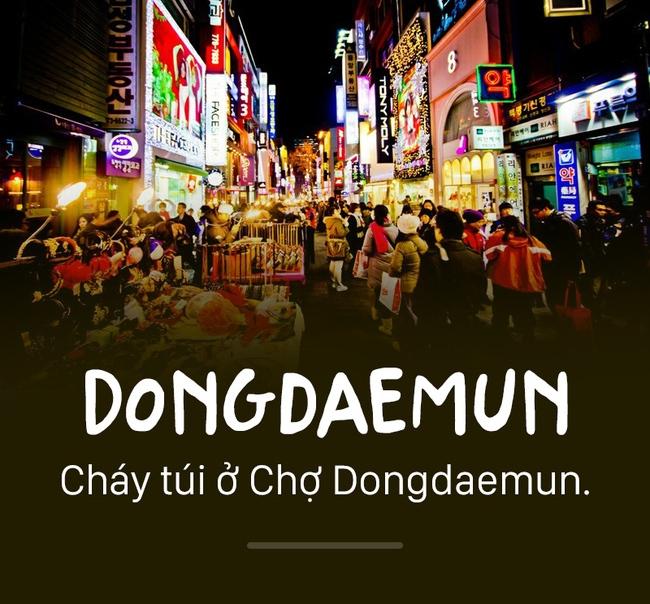 Dongdaemun thiên đường mua sắm dành cho các tín đồ thời trang.