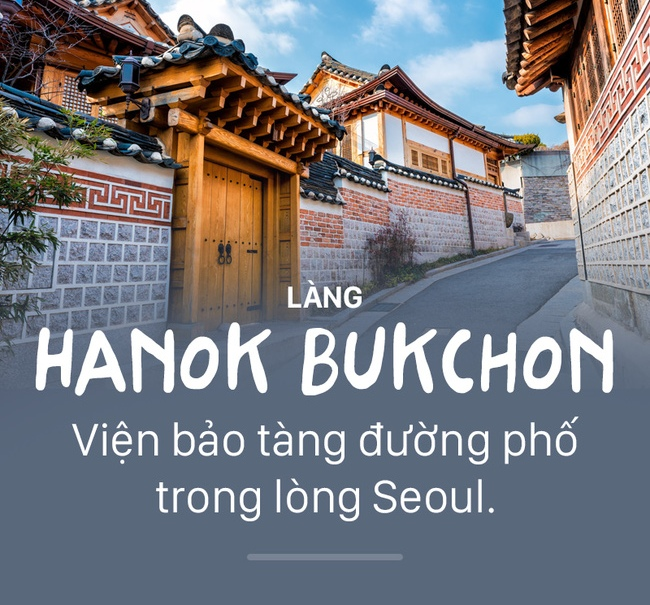 Làng Hanok Bukchon gồm nhiều làng nghề truyền thống có lịch sử lâu đời.